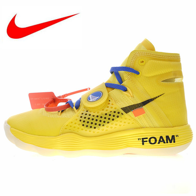 3679849b01a31 Nike OFF WHITE X Hyperdunk OW Men's Basketball Shoes New Colors High  Quality Sports Shoes Breathable Shock Absorption AJ4578 700
