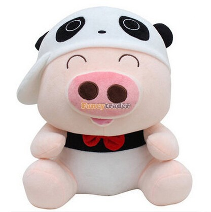 Fancytrader New Style Mcdull Pig Top Sales 36'' 90cm Giant Plush Stuffed Mcdull Pig, 4 Colors Available! Free Shipping FT90466 fancytrader new style 47 120cm lovely giant stuffed plush funny teddy bear toy 4 colors available free shipping ft50855