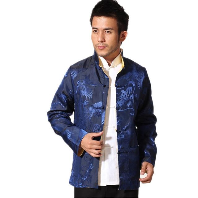 Mantel blau gold
