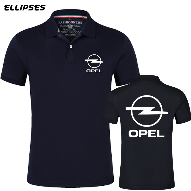 Brand New Arrival Opel Men Polo Shirt High Quality Men Polo Shirt Men Short Sleeve Jerseys Summer Mens Opel Polo Shirts