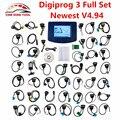 Venta caliente Digiprog III Digiprog 3 Kilometraje Herramienta de Corrección Del Odómetro V4.94 Digiprog3 DP3 Programador Del Sistema Completo Con ST01 ST04 Cable