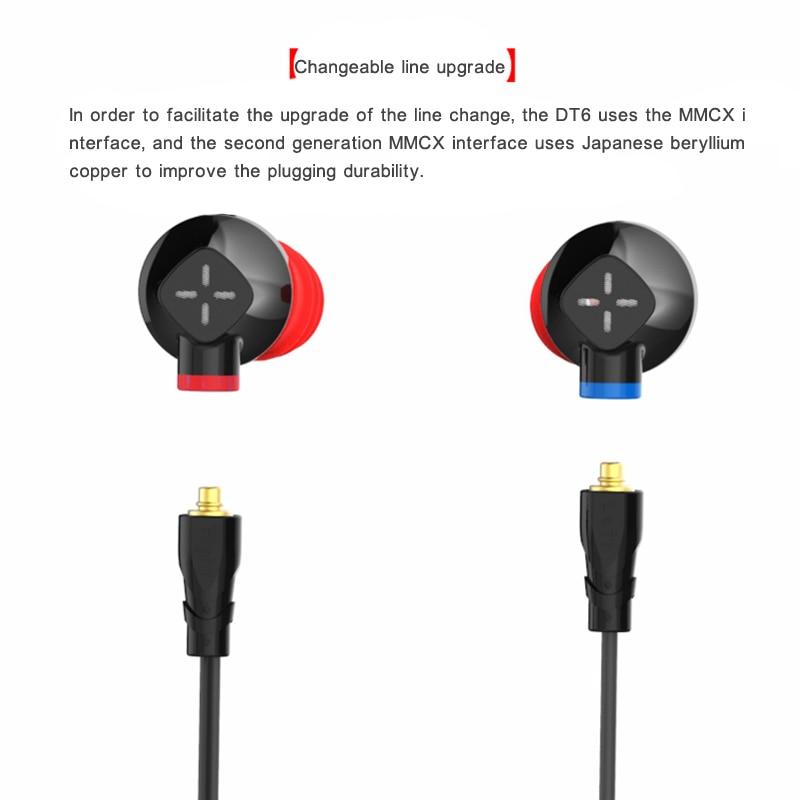 Pz Senfer Dt6 1dd 1ba Ceramic Piezoelectric Hybrid In Ear