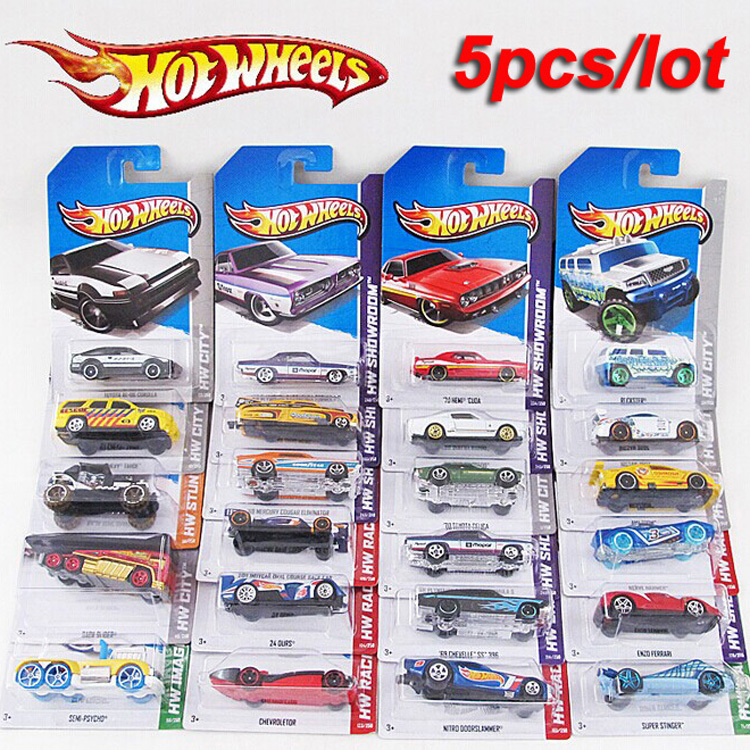5 pcs metal car model classic antique collectible toy cars for sale hotwheels collection hot wheels miniatures scale cars models