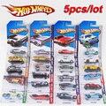 5 unids modelo de coche de metal clásico antiguo de colección de coches de juguete venta hotwheels colección hot wheels miniaturas escala modelos de coches