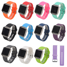 Silicone Fashion Sports Wristband Replacement For Fitbit Blaze SmartWatch Venting Rubber Strap Watch Accessories 1EH