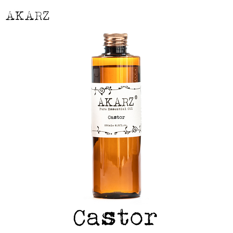Castor essential oil AKARZ Top Brand body face skin care spa message fragrance lamp Aromatherapy castor oil image
