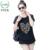 2016 Mulheres Verão Tops Longo Solto Camiseta Rendas Patchwork 4XL Roupas Coração Carta de Impressão Padrão de Manga Curta T-Shirt Mais tamanho