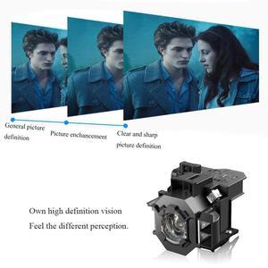 Image 2 - Lampa projektora/żarówka dla Epson EMP 400W 410W EMP 83H PowerLite 822 EMP 400e EX90/EMP 400/EMP 280/H330B EMP 822 ELPL42 żarówka