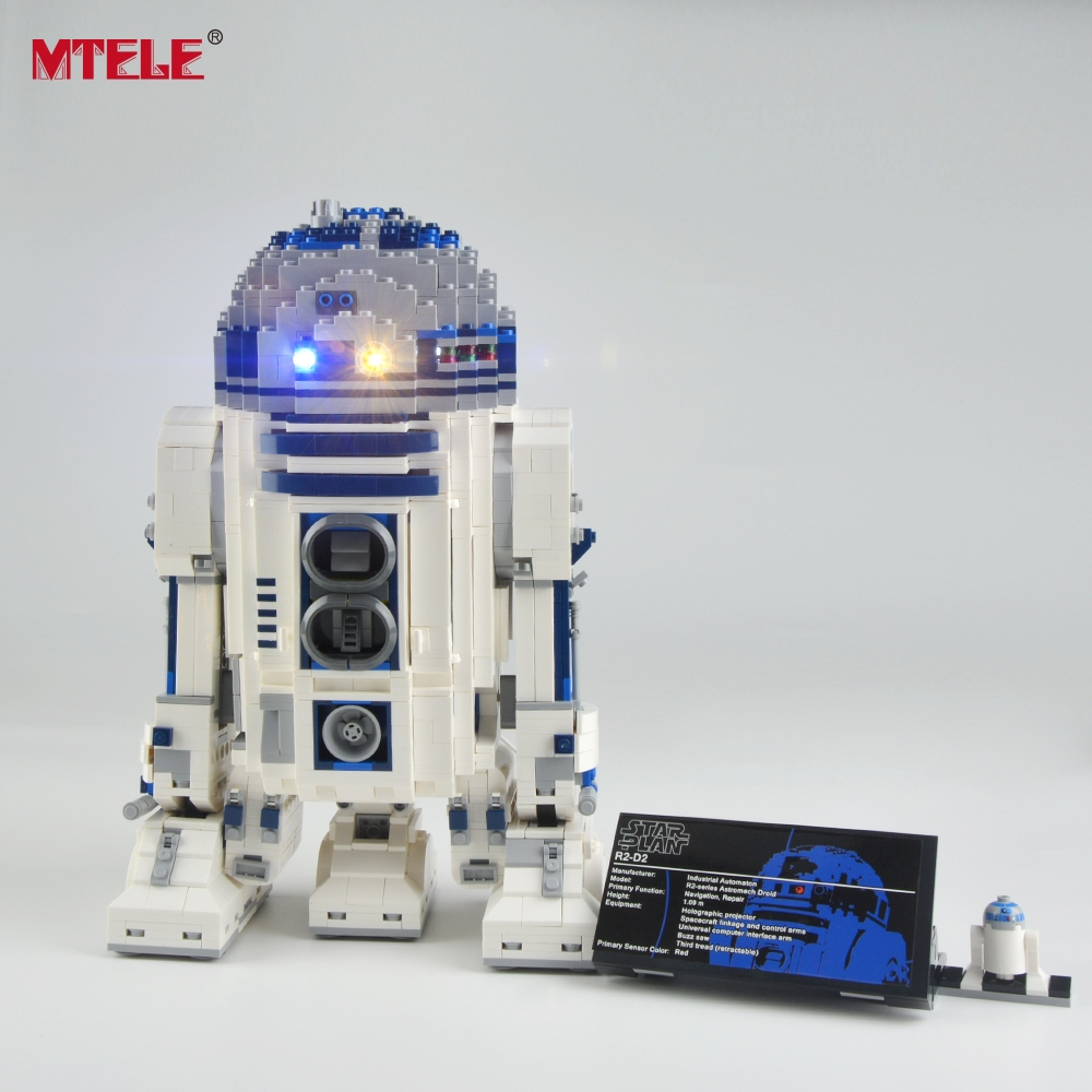 Led Light Kit For Lego And Lepin The R2d2 Robot Set Building Compatible With 10225 And 05043 Lights & Lighting