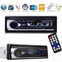 DHL/FedEx 20 шт./лот Автомобильный MP3 плеер аудио стерео радио 12 В в тире 1Din FM Aux Вход приемник BT USB SD карты Авторадио музыка