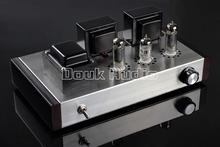 Douk audio Hand made 6N2+6P1 Class A Class A Vacuum Tube Amplifier Stereo Integrated Amp Finished Product 110~240V