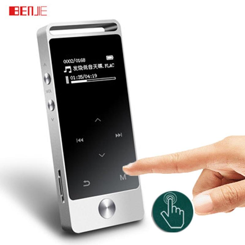 Оригинальный Сенсорный экран MP3-плееры 8 ГБ Бенджи S5 металла APE/FLAC/wav высокое качество звука начального уровня без потерь музыкальный плеер с FM