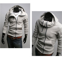 бесплатная доставка стильные мужские свободного покроя хлопок с капюшоном пальто зимняя одежда мужская пальто с капюшоном куртки мужчины свободного покроя СМЛ хl ххl c014