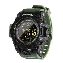 EX16S Smart Watch Camouflage Camo Sport Watch Men Running Step Passometer Sleep Monitor Call Reminder Stopwatch Waterproof Watch