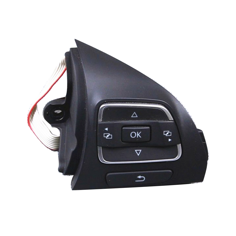 TUKE OEM 5C0959538B steering wheel Multifunction Button Pour VW Touran Golf Jetta MK6 Tiguan EOS CC Caddy Amarok ...