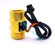 """Полный Медь G"""" DN25mm 4-45L/мин импульса поток воды Сенсор зал Индуктивный расходомер от фабрики с Хорошее качество"""