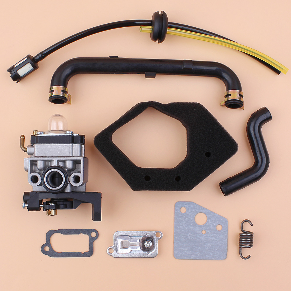 Flywheel Air Filter Cover For Honda GX25 HHT25S w Fuel Line Grommer Kit Engine