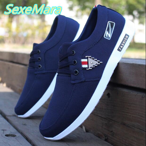 Blue Men Shoes Black Shoes Men Spring Autumn New arrival Fashion Casual Shoes Breathable Flats Loafers Male Lightweight Shoes enmayer spring autumn white red black spring summer autumn fashion new men s women casual shoes flats shoes free shipping