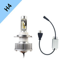 Newest H4 12SMD LED Headlight AutomobilesLED H4 High Power 42W LED Bulbs White Brightest 3600LM 12V 40V Easy Install