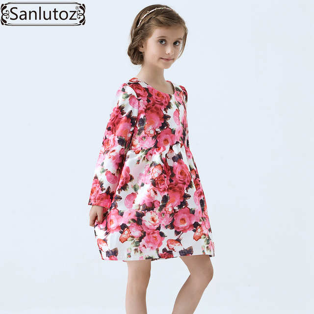S Dress Winter Children Clothing Brand Kids Clothes Party Flower For Princess Holiday Spring Wedding