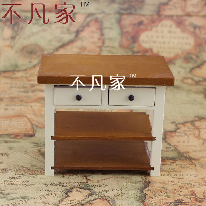 1/12 Scale Miniature Furniture Well Made Handcrafted Table