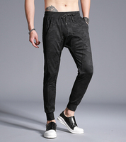 Casual Pant Skinny Mens Pants Male Cotton Camouflage design
