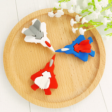 1X Cartoon aircraft Assembly Decoration model eraser Eraser Rubber Stationery Kid Gift Toy Cute Pupils  school office stationery