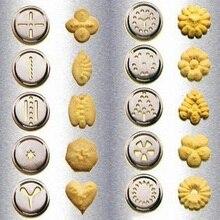 Flower Cookies Maker Mold Cutter Machine