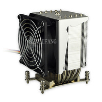 4U Active CPU Heatsink Cooling for X9 UP/DP Systems SNK P0050AP4 Snk p0050ap4 4u Active Cpu Heatheat Sink For X9