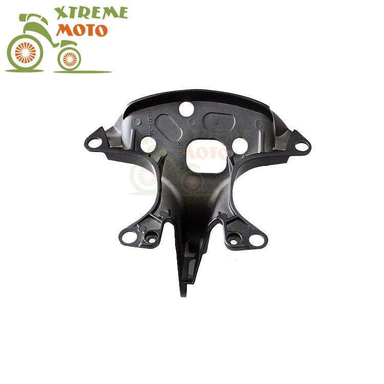 Aluminum Black Motorcycle Front Upper Fairing Bracket Stay Racer Light For YAMAHA YZF R6 1999-2002 1999 2000 2001 2002