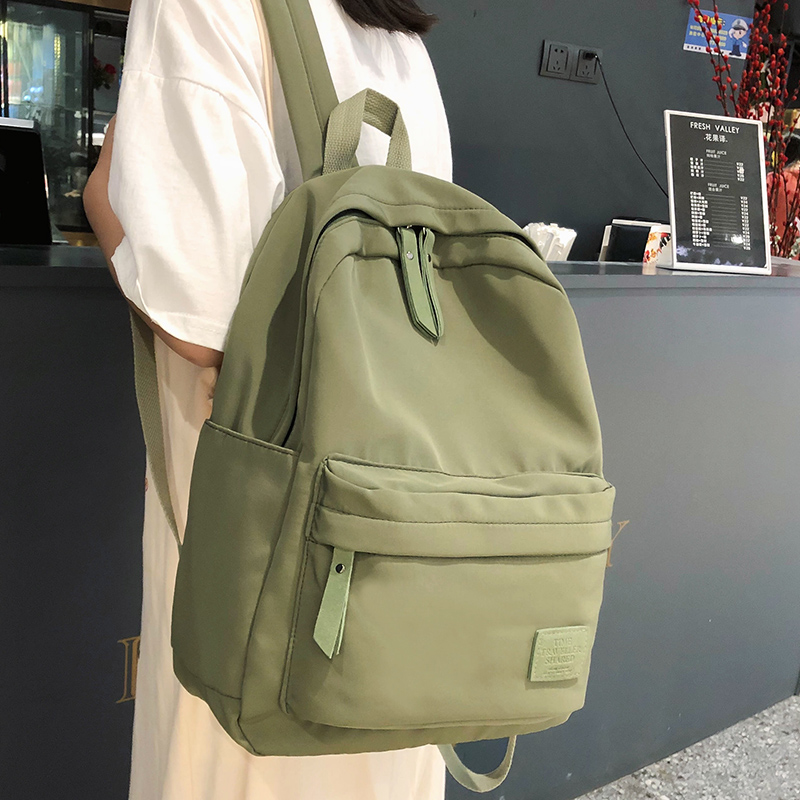 Vintage Backpack Bag-Book School-Bags Teenage-Girls Female Waterproof Nylon Student Women