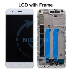 Image 2 - شاومي Mi A1 MiA1 Mi5X Mi 5X شاشة lcd تعمل باللمس محول الأرقام مع الإطار استبدال أجزاء ل شاومي Mi A1 LCD