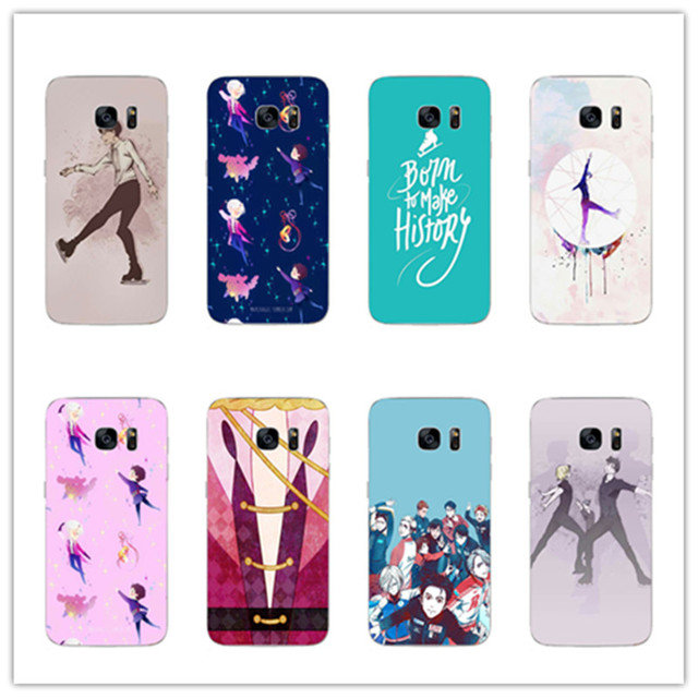 info for 338c7 7876b US $1.7 |Yuri On Ice phone case for samsung galaxy S8 S8plus S7 S6 Edge s5  A5200 A7200 2017 A5100 A7100 Yuri!!! plisetsky tiger cover-in Half-wrapped  ...