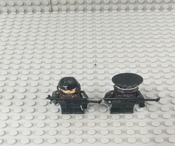 Soldados Armas Brinquedos Playmobil Compatível Militar Mini Figuras Brinquedos Building Block Tijolo Originais