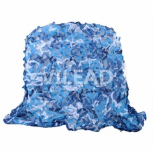 2M*2M blue military camouflage netting camo Netting light for jungle tent  suanshade party decoration