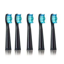 Сменные насадки для зубной щетки SEAGO 949/507/610/659, электрическая зубная щетка, улучшенная мощность, антибактериальная Автоматическая Мягкая ще...