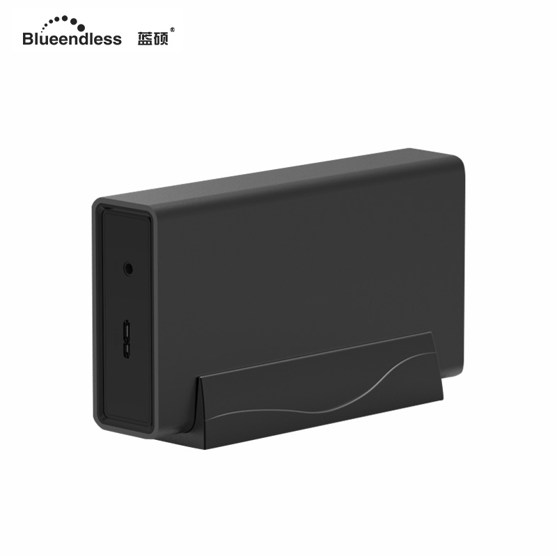 Dual array 2 disk support 2.5 inch hard disk enclosure sata fast speed 3.0 uSB hard driver case aluminum carry box DB23A