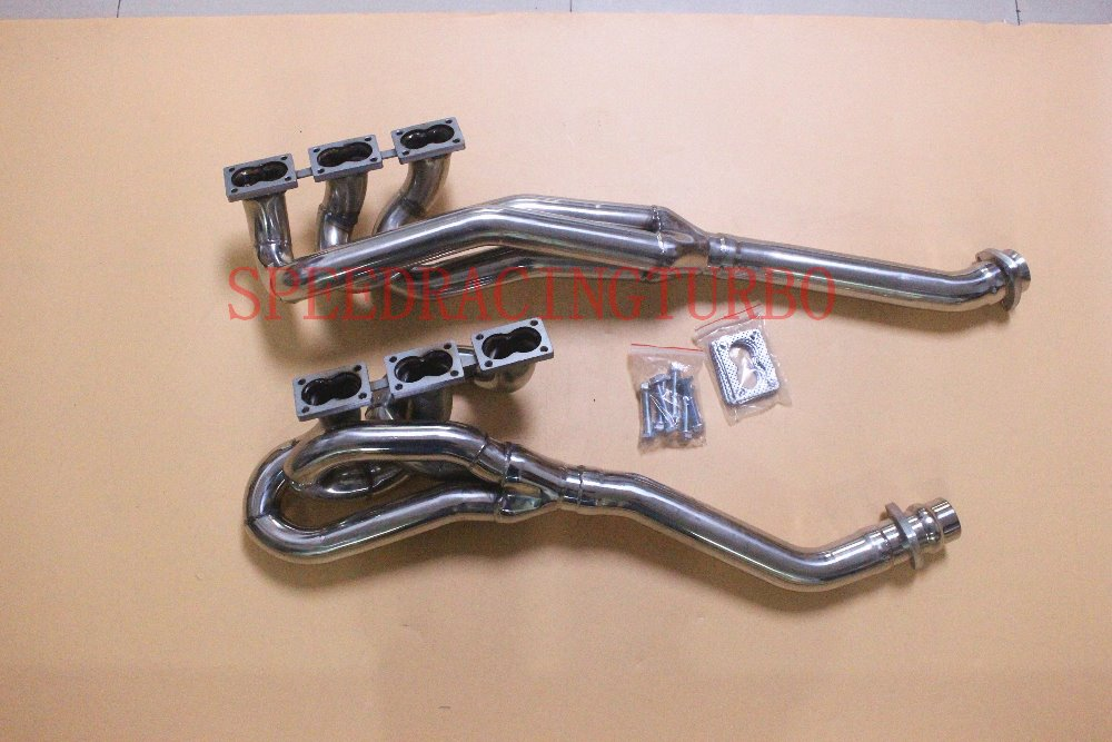 EXHAUST HEADER MANIFOLD FOR <font><b>BMW</b></font> M88/3 FOR M5 <font><b>E28</b></font> M635CSi FOR E24 M6 E30 S38B38 S38B36 TURBO HEADERS TURBO MANIFOLD FOR GERMANY image