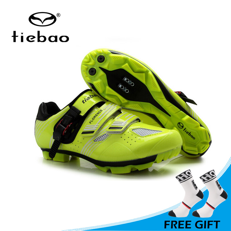 Tiebao Men Mountain Bike Shoes Non-slip MTB Shoes Breathable Auto-lock Cycling Shoes High Quality Sport Shoes sapatilha ciclismoTiebao Men Mountain Bike Shoes Non-slip MTB Shoes Breathable Auto-lock Cycling Shoes High Quality Sport Shoes sapatilha ciclismo