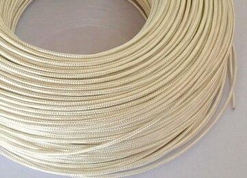 PT100 compensating lead wire Four core teflon silver shield high temperature wire 3 0 15 4