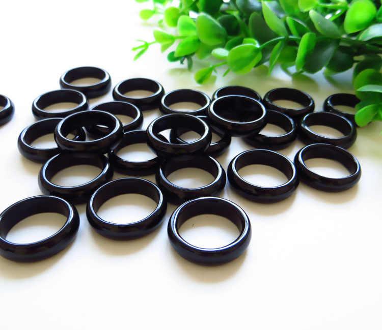 ธรรมชาติสีชมพูน้ำแข็ง agate chalcedony แหวนหญิงหยกแหวนเครื่องประดับ index finger ง่าย ar01 #