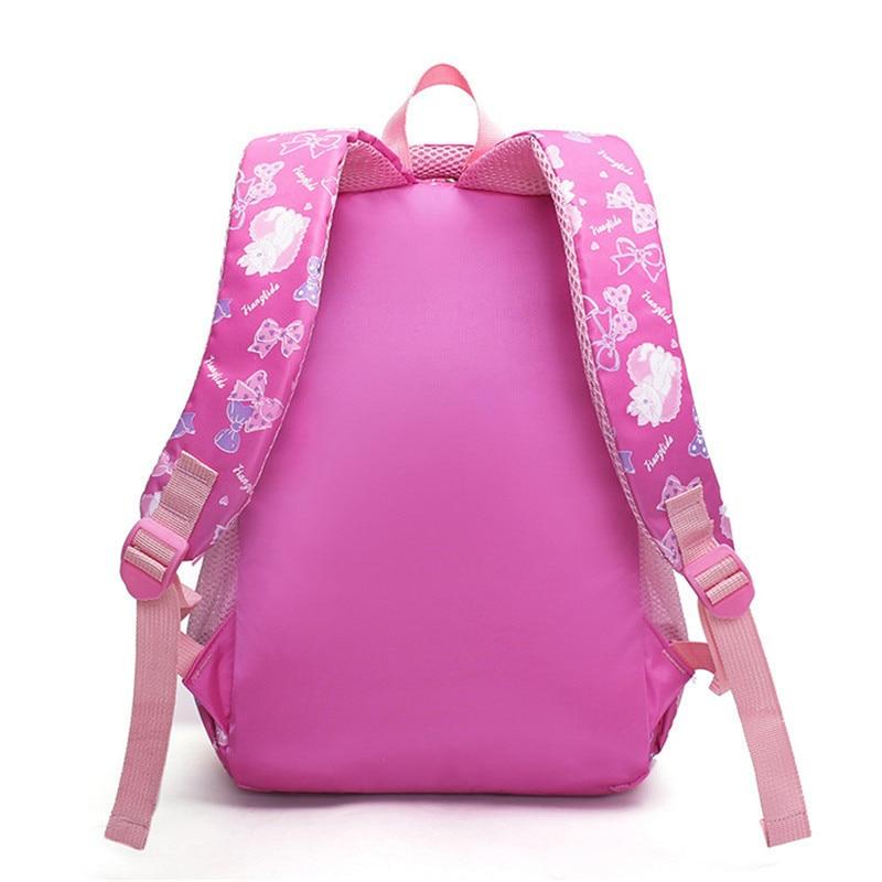 Кошка детская одежда с рисунком рюкзаки для девочек легкий водонепроницаемые школьные мешки ребенок школьные детские книги сумка mochila