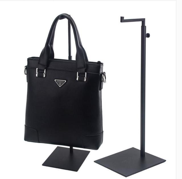 10pcs clothing shop display prop black handbag display stand 7 type