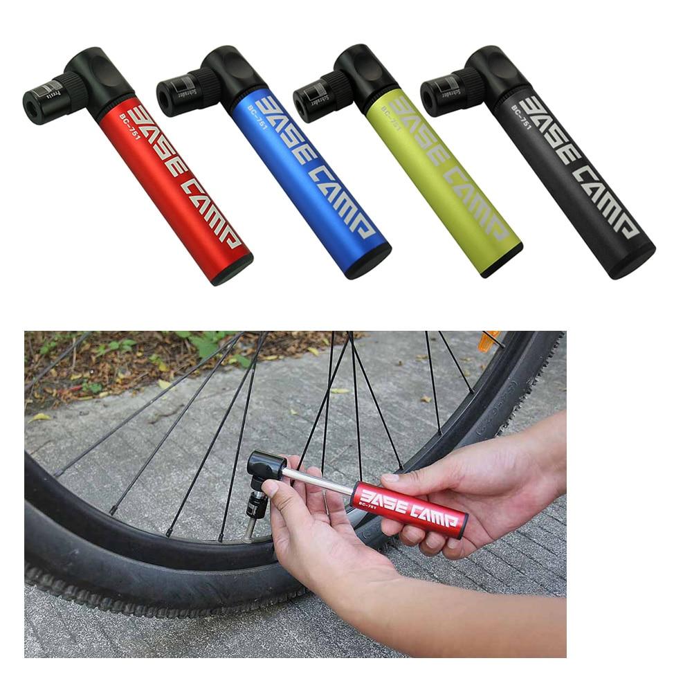 Basecamp Aluminium Alloy Portabel Mini Sepeda Pompa Tangan Urltra Kecil 1 Udara Adaptor Jarum Mounting Bracket