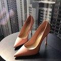 Mujeres 2016 zapatos de tacón alto señaló zapatos de punta zapatos payty gl16116