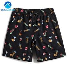 Gailang Brand Beach Shorts Board Boxer Trunks Boardshorts Men's Swimwear Swimsuits
