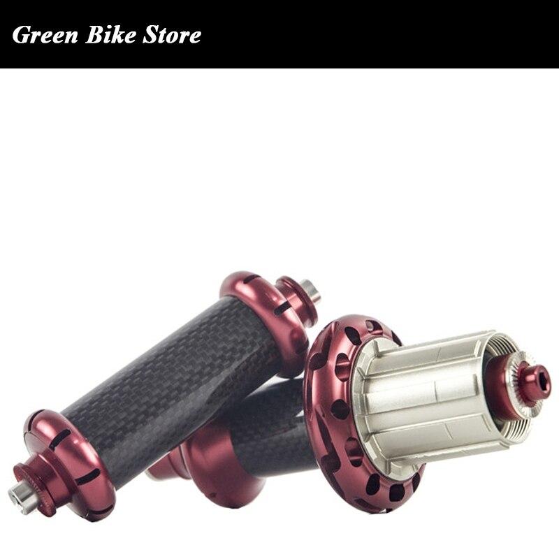 Moyeu en carbone Powerway R36 20-24 trous 18-21trous 16-18 trous utilisés pour les roues de vélo de route moyeu de vélo