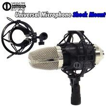 Universal Studio de Grabación del Micrófono Choque Titular de Montaje Del Condensador Mic Clamp Clip de PC Soporte De Sobremesa Amortiguadores de Suspensión Araña