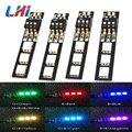 4 Pcs X Rgb 5050 12v Led Lights Board 7 Color Dip Switch for Qav250 Cc3d Miticopter