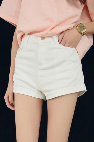 Compare Prices on White Short Jeans- Online Shopping/Buy Low Price ...